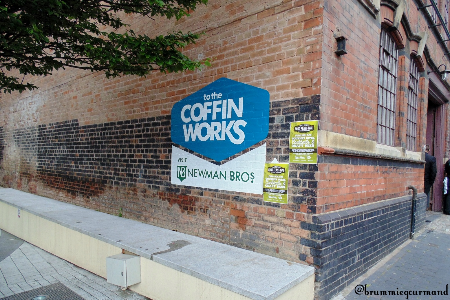 Chowing down at Coffin Works – Taste & Liquor Fleet Street FeastIVAL