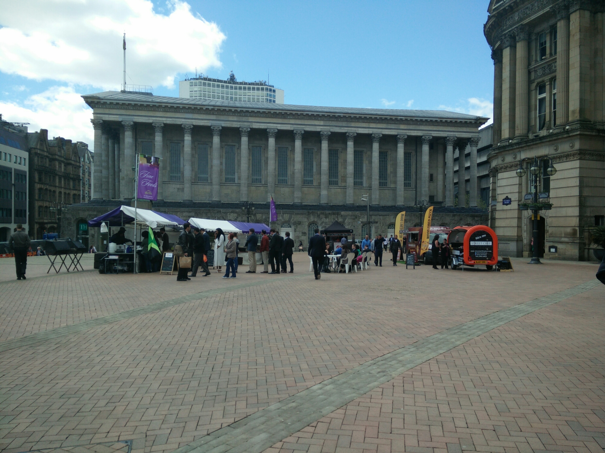 Lunchtime Liaison – Hibiscus Grove at Sketts Fine Food Fair, Victoria Square