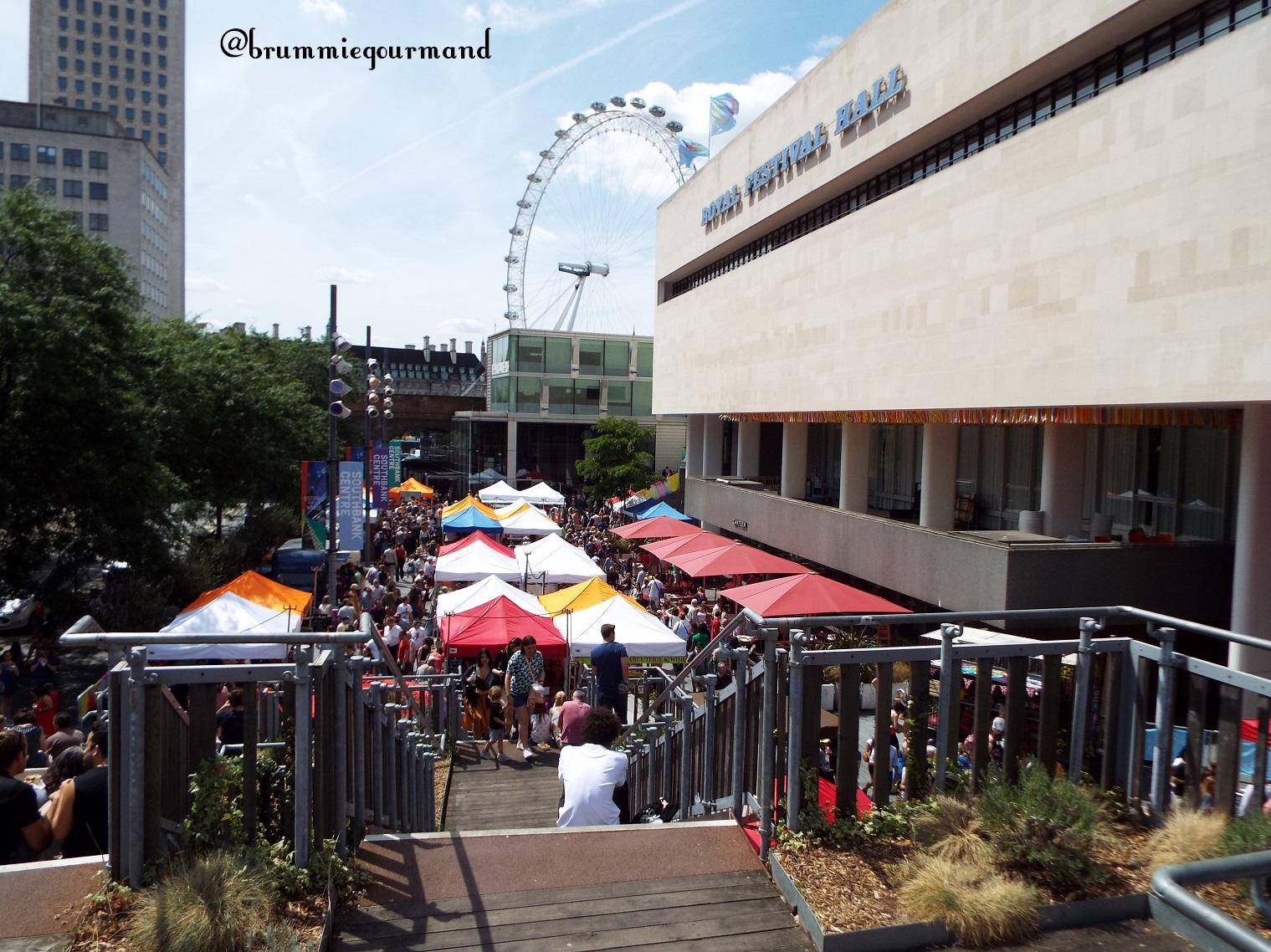 Capital Cuisine – A bite sized taste of Southbank Centre Food Market