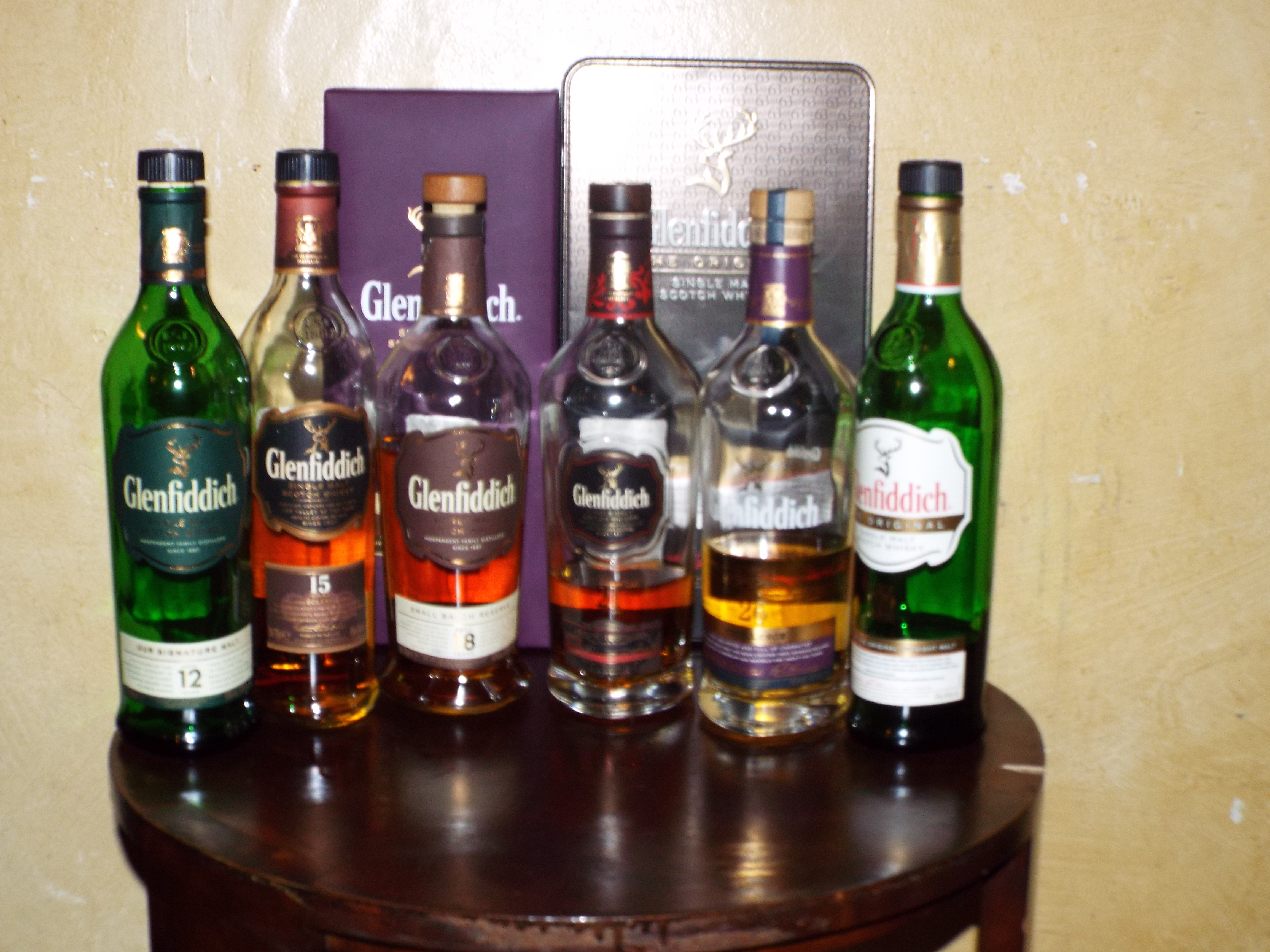 Great Galloping Glasses of Grain – Glenfiddich Evening with Birmingham Whisky Club