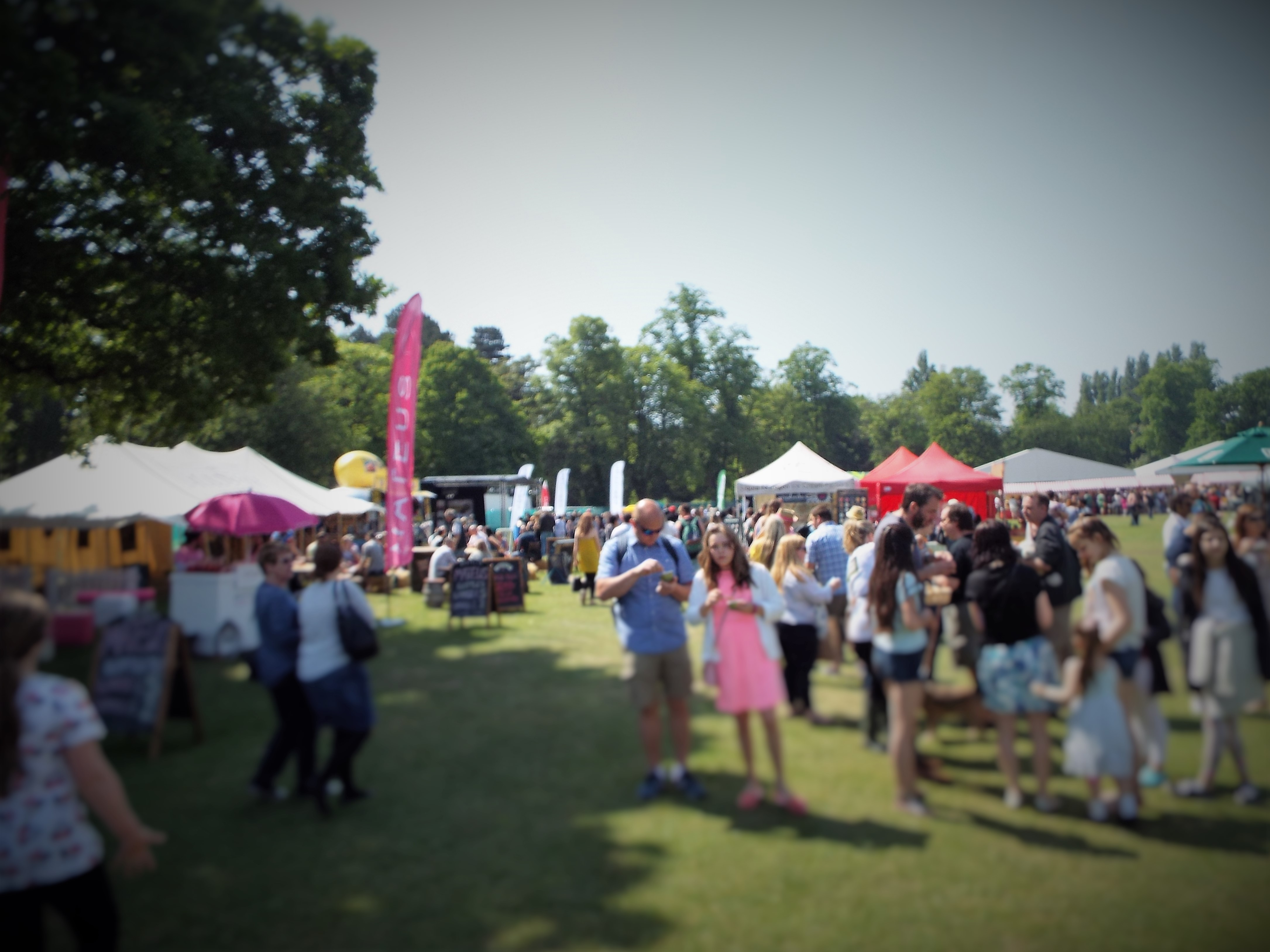 Feeding Time at Foodies Festival