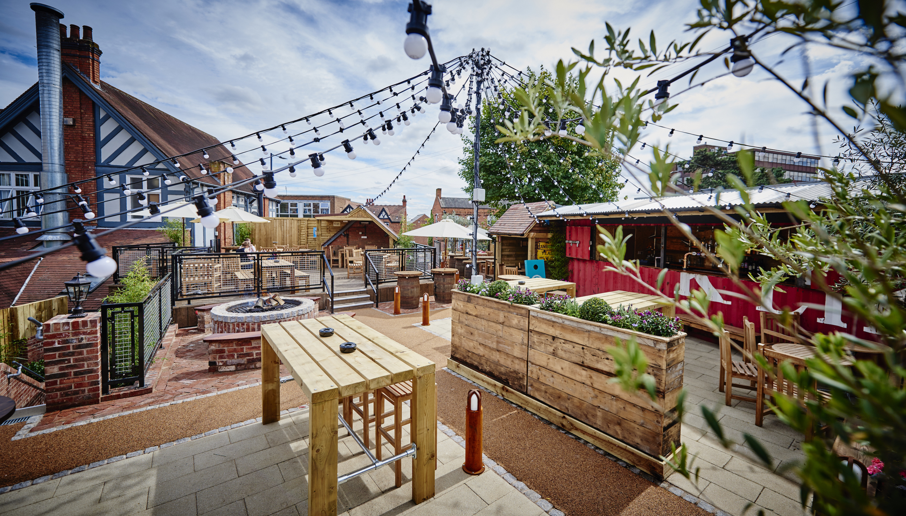 News: There's a new garden area 'Hopping Up' in Sutton Coldfield at Brewhouse & Kitchen