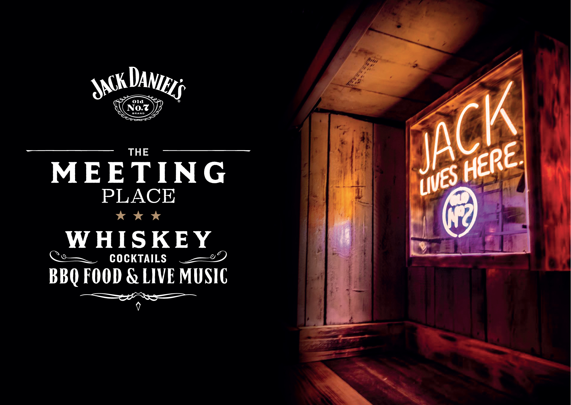 News: You don't know Jack – yet. Jack Daniel's is popping up with The Meeting Place