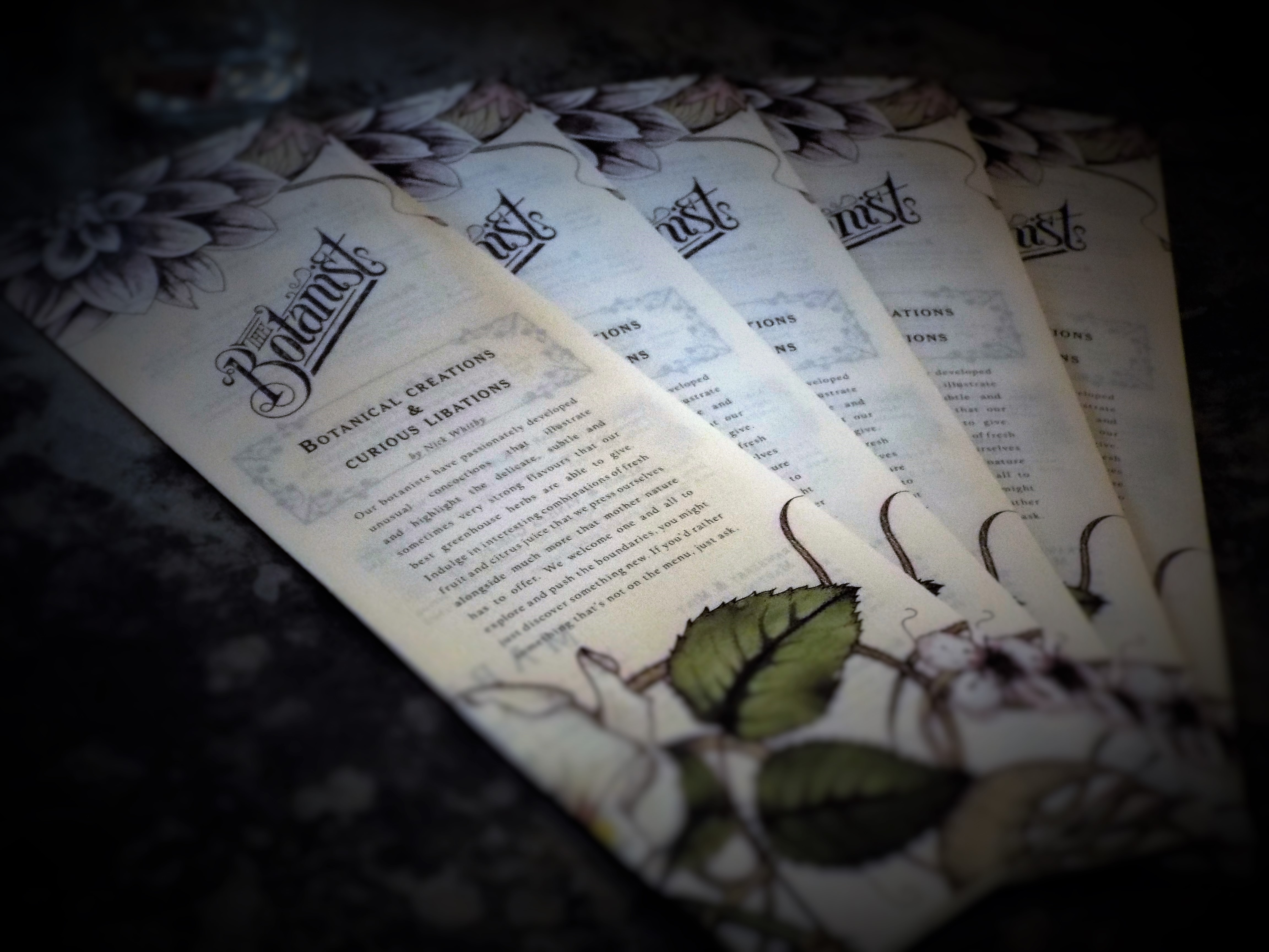 Beverage Botany – The New Cocktail Menu launches at The Botanist